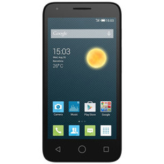 Alcatel Pixi 4.5 4G Preto Tela 4.5 ´ Quad Core 1.0 GHz Câmera 8MP Alcatel